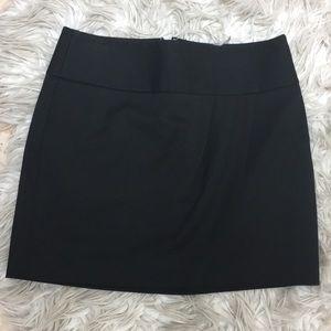 Express Faux Wrap Mini Skirt